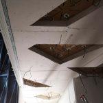 soffitto cartongesso illuminazione centro commerciale savona