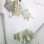 cartongesso soffitto pannelli luminosi specchi